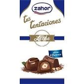 Gran selección bombones surtidos de chocolate con leche noir y licor bolsa 120 g