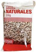Pipas girasol naturales