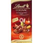 Chocolate relleno de coñac