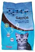 Comida gato junior 1/12 meses (aves con arroz y leche)