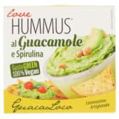 Love Humus, al guacamole e spirulina 130 g