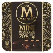 Algida, Magnum, Mini Intense Dark 6 pezzi 264 g
