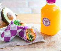 Menu Wrap + Smoothie