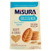 Misura, DolceSenza biscotti ai cereali 375 g