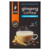 King Cup, ginseng coffee da zuccherare conf. 10x6 g