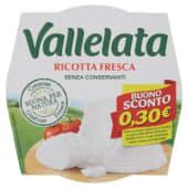 Vallelata, ricotta fresca 250 g