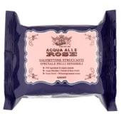 Roberts, Acqua alle Rose salviettine struccanti pelli sensibili 20 pezzi