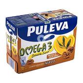 Preparado lácteo rico en omega 3 con nueces