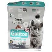Comida gato junior croqueta pollo y arroz supreme (especial gatitos gestante o en lactancia)