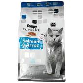 Comida gato croqueta salmon y arroz