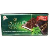 Chocolatina Royal Mints (Chocolate negro con relleno de crema sabor menta)