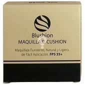 Maquillaje fundente cushion Nº 300 beige oscuro (contiene espejo y esponja aplicadora)
