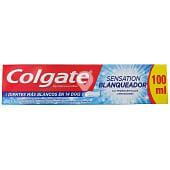 Dentífrico pasta sensation blanqueador con microcristales limpiadores