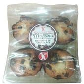 Muffin con pepitas de chocolate