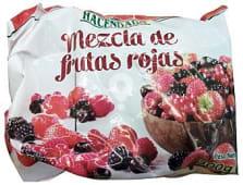 Frutas rojas mix congeladas