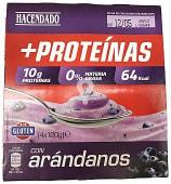 Postre lacteo desnatado trozos arandanos + proteinas