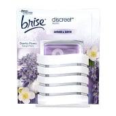 Ambientador eléctrico olor a lavanda y jazmín con recambio brise discreet