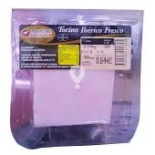 Cerdo tocino ibérico fresco