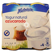 Yogur natural azucarado (tarro cristal)