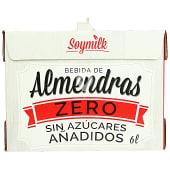 Bebida almendras zero sin azucares añadidos
