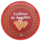 Galleta jengibre (forma de corazon)