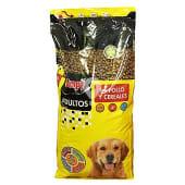 Comida perro seca con pollo y cereales adulto razas medianas y grandes