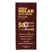 Protector solar facial fps 50 + antiedad con color