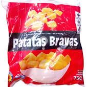 Patatas congeladas bravas