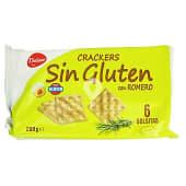 Cracker con romero sin gluten
