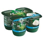 Yogur desnatado natural edulcorado 0% materia grasa