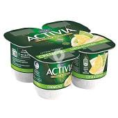 Yogur cremoso sabor lima-limon