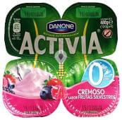 Yogur con bífidus cremoso 0% materia grasa sabor frutas silvestres