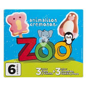 Helado de palo cremoso animalitos zoo