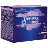 Tampones Compak Lites caja 22 unidades