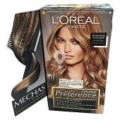 Mechas sublimes para cabello rubio caja 1 unidad incluye cepillo maestro escoba