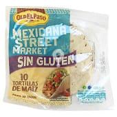Tortillas mejicanas de maíz sin gluten