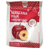 Manzana roja deshidratada 100% natural y crujiente
