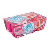 Gelatina de yogur con fresa 0%