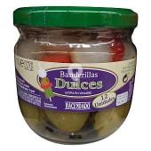 Banderillas dulces vinagre