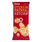 Aperitivo sticks patata sabor ketchup