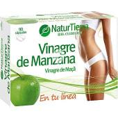 Vinagre de manzana normaliza el metabolismo de las grasas 90 cápsulas envase 180 g