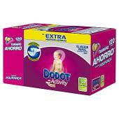 Pañales de 6 a 11 kg talla 3+ Extra pack 2x60 unidades caja 120 unidades