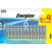 Eco Advanced pila alcalina AAA blister 8 unidades + 4 gratis