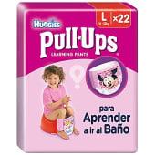 Pull Ups niña 16-23 kg Talla 6
