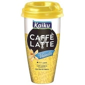 Café Latte toque vainilla