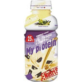 bebida con proteína de suero lácteo bajo aporte en hidratos de carbono y grasa botella 330 ml sabor vainilla