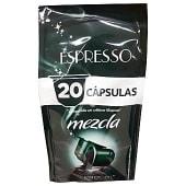 Cafe cápsula mezcla