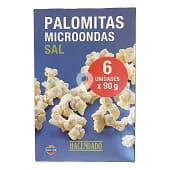 Palomitas Microondas saladas