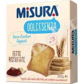 FETTE BISC.SENZA ZUCCHERO MISURA GR.320