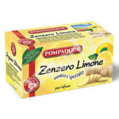 INFUSO ZENZERO E LIMONE POMPADOUR 20 FLT